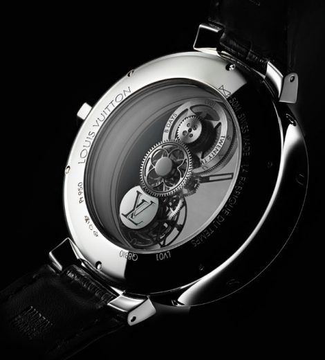 The Tambour Moon Mystérieuse Flying Tourbillon