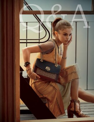 Coach SS18 Q&A with Selena Gomez