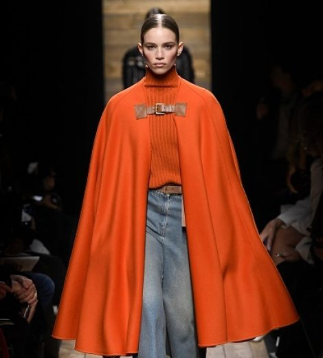 COZY GLAMOUR  AT THE MICHAEL KORS' FALL 2020 RUNWAY SHOW  AT NYFW 2020