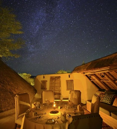 PIQUANT, OUT OF THIS WORLD, ABORIGINAL KENYAN DINING AT FINCH HATTONS