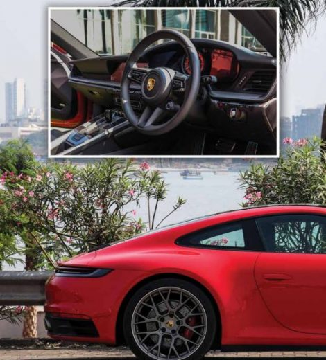 Sports Car of the year- PORSCHE 911 -By Somnath Chatterjee