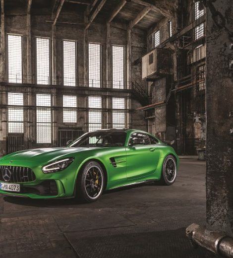 Mercedes AMG GT R: Green with envy