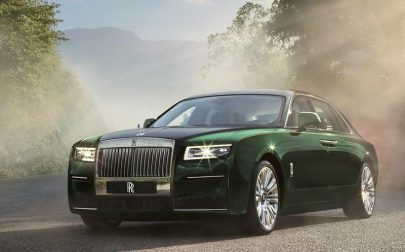 New Rolls Royce Ghost Extended silently wafts into India