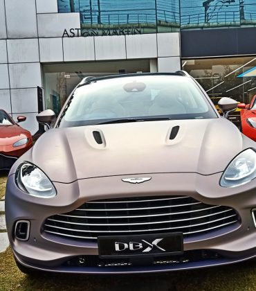 Aston Martin DBX arrives in India